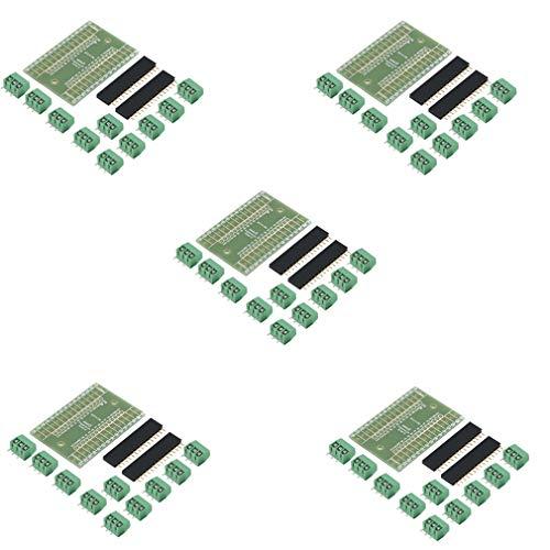 HiLetgo 5pcs NANO IO Shield DIY NANO IO Expansion Board DIY Kits for Arduino NANO