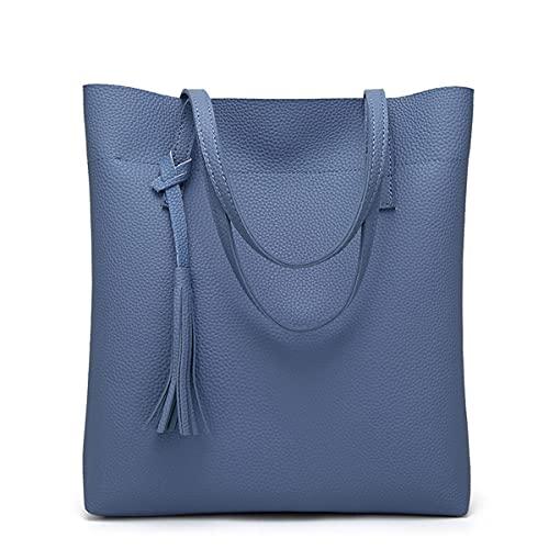 YXLYLL Moda Bolsa de Hombro de Moda Lychee Pattern Bolsa de Las señoras Bolsa de Asas Bolsa de Asas C