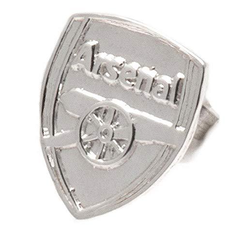 Arsenal F.C. Sterling Silver Stud Earring