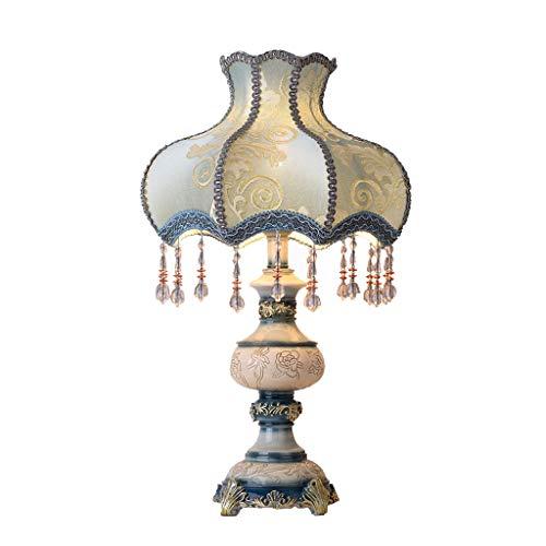 JLXW tafellampen handgemaakte stoffen lampenkap creatieve bureaulamp met hangende decoratie ideaal voor woonkamer slaapkamer studie en housewarming party cadeau