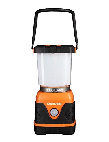MEIKEE 1000 LM Camping-Lampe 4 Modi LEDLaterne IP55 wasserdicht 9 W Camping Licht Tragbar Outdoor Laterne dimmbar Campinglampe 6000 K Tageslichtweiß als Notbeleuchtung für Angeln, Notfall oder Stromausfall