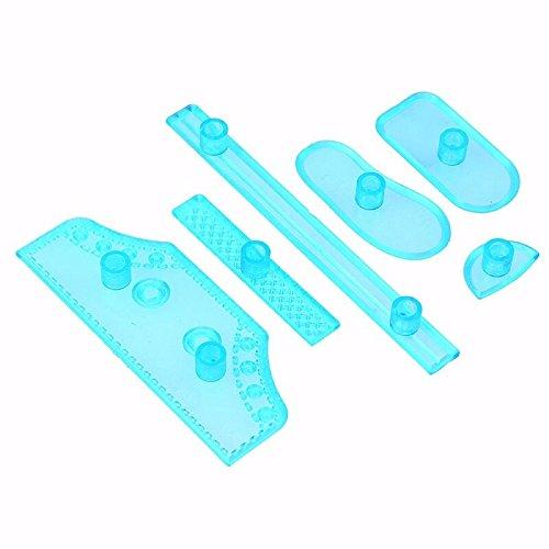 Color plástico en la nube 8estilos cortador de Fondant para tartas/galletas/Buscuit cortador molde Fondant molde fondant decoración de pasteles herramientas, otros, Style 6, As Picturec