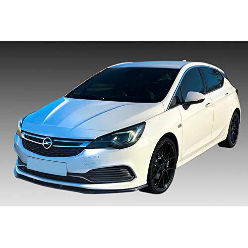 Frontspoileransatz kompatibel mit Opel Astra K OPC-Line 2015- (ABS)