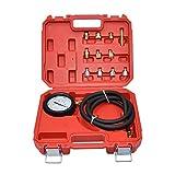 CNWOOAIVE Tester Automatico del Tester di Pressione del Cambio, Kit di Prova di Compressione del Motore a Benzina, Strumento Misuratore di Pressione dell'olio