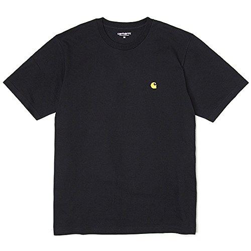 カーハート ワークインプログレス CARHARTT WIP 半袖 チェイス Tシャツ メンズ S/S Chase T-Shirt ブラック...