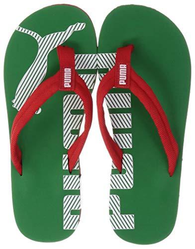 PUMA Epic Flip V2, Zapatos de Playa y Piscina Unisex Adulto, Rojo (High Risk Red/Amazon Green 36), 37 EU