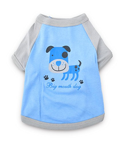 DroolingDog Small Dog Shirt Puppy Clothes Boy Dog Clothes for Small Dogs, Large