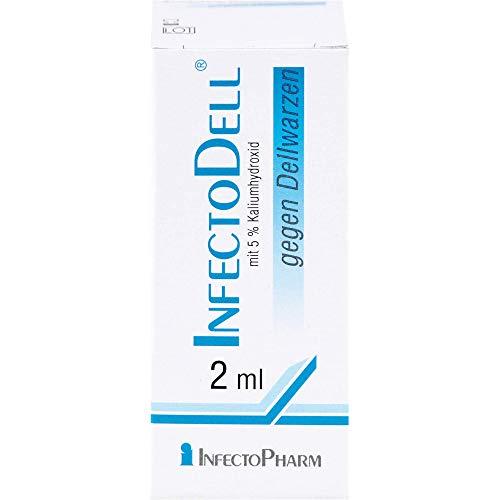 InfectoDell gegen Dellwarzen Lösung, 2 ml Lösung