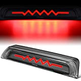 Sequential Heartbeat Patent LED High Mount Third Brake Light Compatible with Toyota Tundra 07-17, Carbon Fiber Look, Deleted Cargo Function