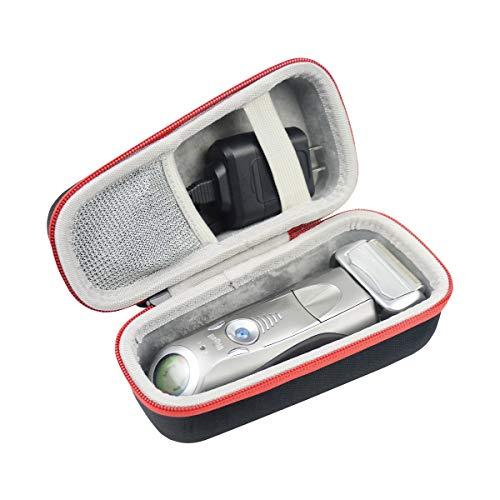 für Braun Series 5 7 9 5090cc 5070cc 5040s 5030s 740s-7 720s-6 799cc-7 7898cc 9090cc 9296cc 9290cc Elektrischer Rasierer Hart Schutz Hülle Etui Tasche von SANVSEN