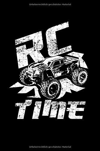 RC Time TruckRadio Controller Auto: Gepunktetes Papierheft | 120 Blatt | Planer Journal | Dotgrid | 6 x 9 in | 15,24 x 22,86 cm | Punktgitterbuch | Lustiges großes Geschenk