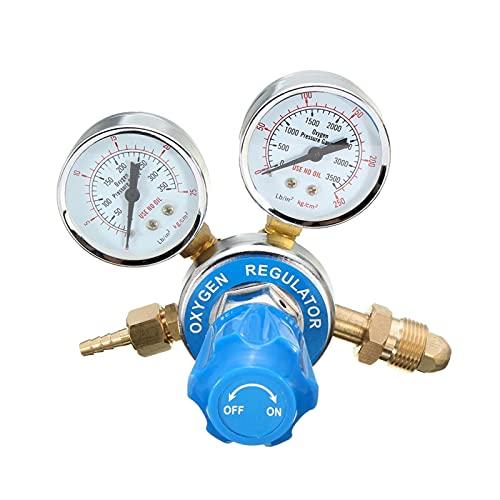 Danghe Regulador de presión de Gas - regulador de presión de oxígeno Soldado TIG Reductor de presión