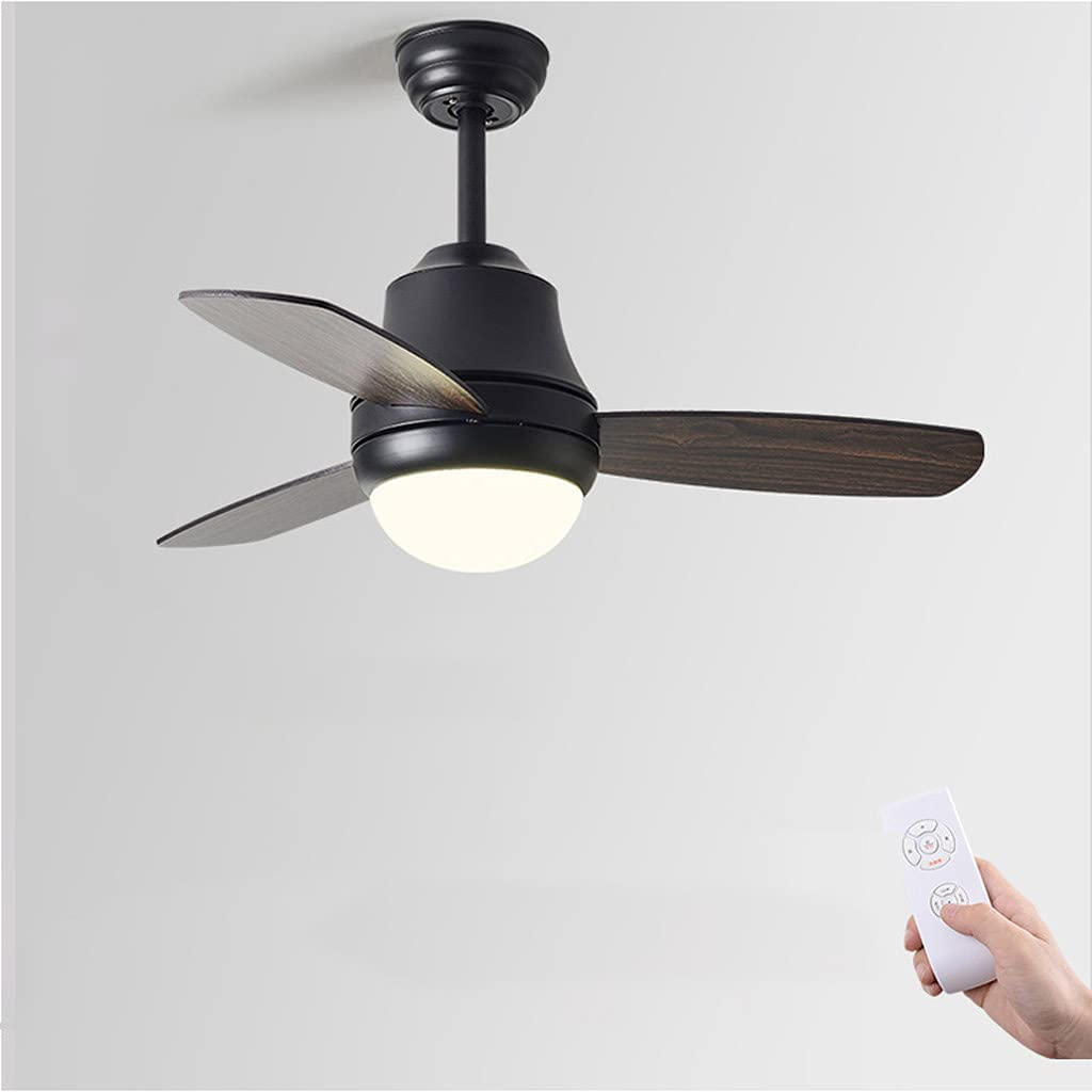 SHIJIANX Indoor Ceiling Fan-42 Inches-3 Fan Blades-Multiple Color Options-Ceiling Fan Light-Fan Light-Fan Chandelier Integrated-Silent-up to 8 Hours of Timing