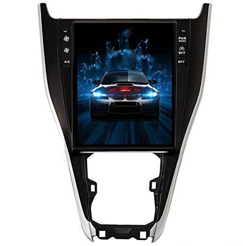 HYDDG Radio de automóvil para Toyota Harrier 2013-2018, Pantalla Vertical Carplay PX6 GPS DSP SWC Coche Headunitario Estéreo Sat Nav