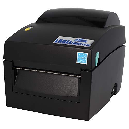 Labelident Desktopdrucker BP4X, 203 dpi, Basisgerät mit Abreißkante, Thermodirekt, LAN, seriell, USB