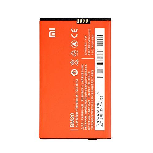 Batteria Originale Bulk Xiaomi - 2000 mAh con Carica Rapida 2.0 Per Xiaomi Mi 2 / Xiaomi Mi2s - Senza Scatola