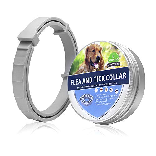 SEALUXE Flea and Tick Collar for Dogs,Flea and Tick Prevention for Dogs Flea Tick Control,Dog Flea Collars for Dogs,Puppies,All Dog Sizes