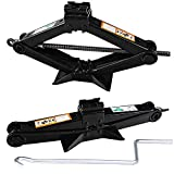 Universal Cars Scissor Lift Jacks 2 Tonne with Speed Crank Handle Wind Up