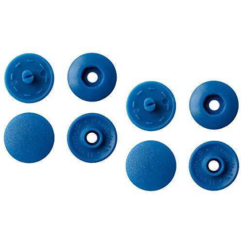 NBK イージースナップボタン100組入り φ13mm 青 F12-310-100