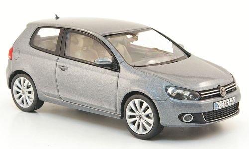 VW Golf VI, met.-grau, 3-türer, 2008, Modellauto, Fertigmodell, Schuco 1:43