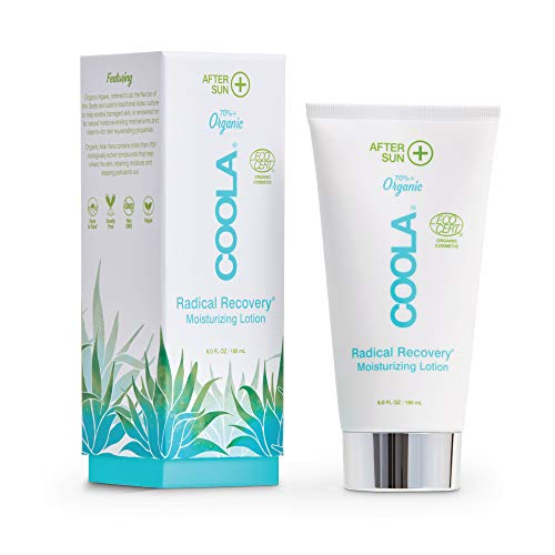 COOLA Organic Radical Recovery Moisturizing After Sun Body Lotion, Supports Sunburn Relief, 6 Fl Oz