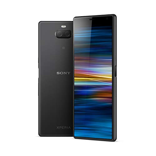 Sony Xperia 10 Plus 6.5 Inch 21:9 Full HD+ display Android 9 UK SIM-Free Smartphone with 4GB RAM and 64GB Storage (Dual SIM) - Black (Exclusive to Amazon)