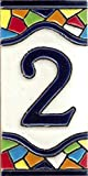 TORO DEL ORO Números casa. Numeros y Letras en azulejo. Ceramica esmaltada, Pintados a Mano...