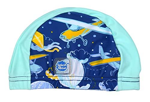 Splash About Baby Swimming Hat Up in The Air 18+ Months Gorro de natación, Unisex bebé, Arriba en el Aire