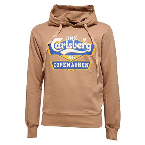 Carlsberg 8548K Felpa Uomo beige Cotton Sweatshirt Man [XL]