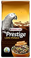 Composed with a varied supply of seeds and grains and contains delicacies for Parrots such as puffed grains, pumpkin seeds, rose hip, dried peppers and pine nuts An enriched seed mixture with extra food elements, specially made for all African Parrot...