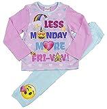 Mädchen Emoji Schlafanzüge Vier Designs 6-7 Jahre 8-9 Jahre 10-11 Jahre 12-13 Jahre - Mehr Fridays Emoji, EU 128-134