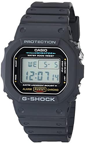 Casio Men's G-Shock Quartz Watch with Resin Strap, Black, 20...