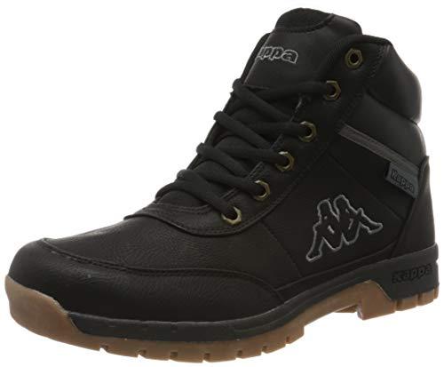 Kappa Bright Mid Light, Zapatos de High Rise Senderismo Hombre, Negro (Black 1111), 44 EU
