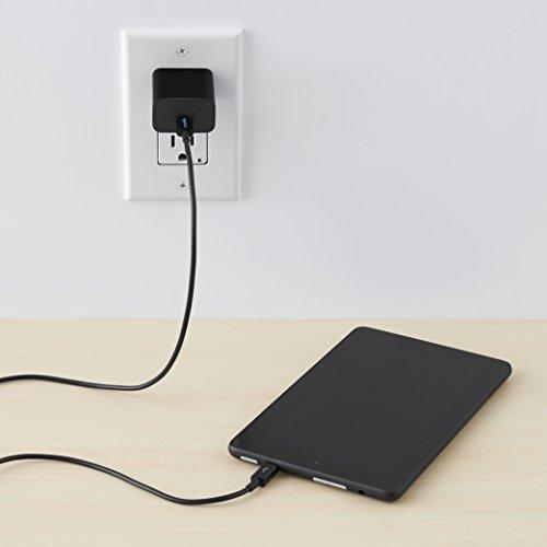 Amazon Basics - Verbindungskabel, USB Typ C auf Micro-USB Typ B, USB 2.0, 0,9 m, Schwarz