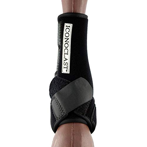 Iconoclast Hind Orthopedic Support Boots MED Black