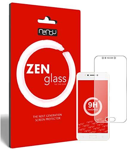 ZenGlass Flexible Glas-Folie kompatibel mit Asus Zenfone 4 Max 5.2 Zoll (ZC520KL) Panzerfolie I Bildschirm-Schutzfolie 9H I (Kleiner Als Das Gewölbte Bildschirm)