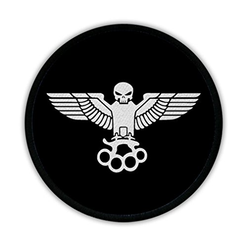 Patch/badges – Oldschool Rebel Aigle Biker poing américain Mort Noir kutte Gang Moto Patch Tuning Vieille École # 16317