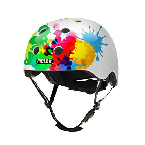 Melon Unisex– Erwachsene Urban Active-Coloursplash XL-XXL (matte) Helm