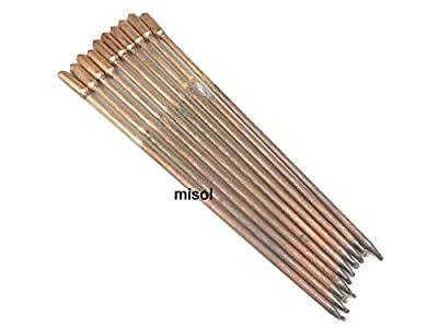 MISOL 10 pcs/lot of copper heat pipe (40cm), for solar water heater / solar hot water heating / for solar collector