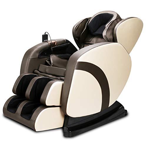 NCBH Silla de Masaje y relajación Profesional Masajeador eléctrico de Cuerpo Entero con función de Calor Silla de Masaje con cápsula Espacial 3D Sofá para el hogar y la Oficina