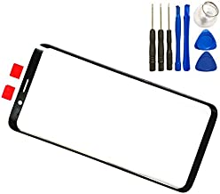 LCD Screen Front Outer Glass Lens for Samsung Galaxy S9 G960 5.8'' Touch Glass Panel Lens Screen Replacement with Tool (Not LCD &Not Digitizer)