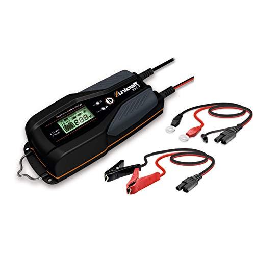 Unicraft elektronisches Batterielade-/erhaltungsgerät EBC 7 (Wet, Gel, AGM-Batterien, 6/12 Volt), 6850300