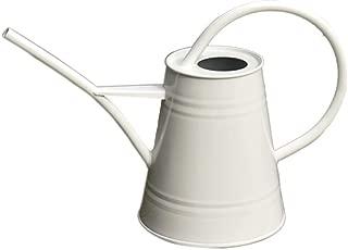 Asvert Watering Can Fashion Rustic Retro Textured Gardening Tools Long spout (White)