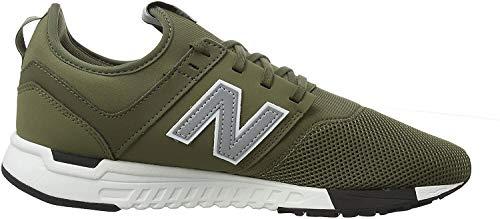 New Balance Herren 247v1 Sneaker, Grün (Triumph Green/Silver Op), 37 EU