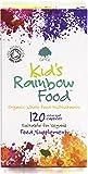 G&G Vitamins Kid's Rainbow Organic Whole Food Multivitamin - 120 Vegan Capsules - Ideal for Children