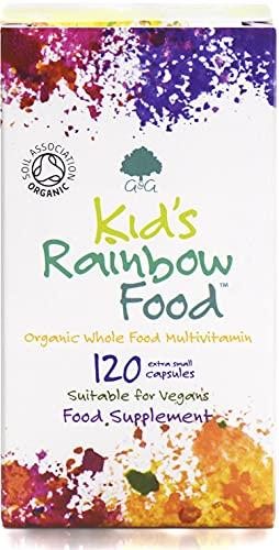 G&G Vitamins Kid's Rainbow Organic Whole Food Multivitamin - 120 Vegan...
