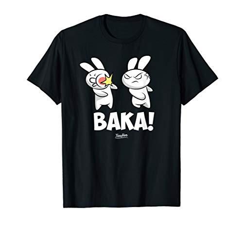 Funny Anime Baka Rabbit Baka Japanese Anime Lover T-Shirt