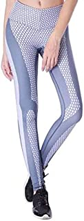 BEESCLOVER Digital Honeycomb Printed Yoga Pants Women Push Up Professional Running Fitness Gym Sport Leggings Tights Trousers