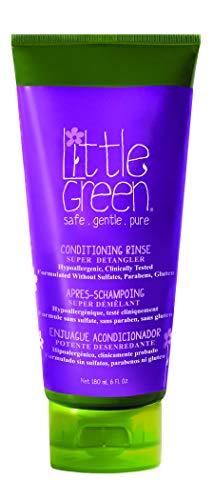 Little Green - Enjuague acondicionador de pelo 180 ml para niños sin...
