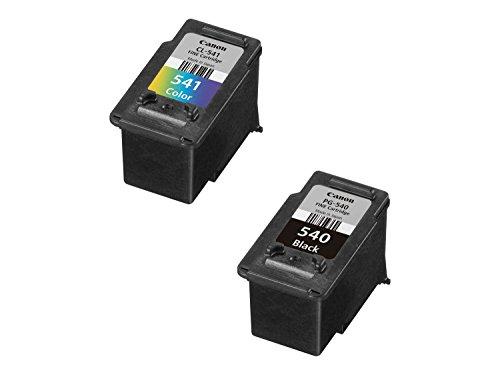 Canon PG-540/CL541 C/M/Y Druckertinte Multipack - je 1 FINE Druckkopf mit 8 ml Tinte schwarz und 8 ml Tinte Farbe für PIXMA Tintenstrahldrucker ORIGINAL